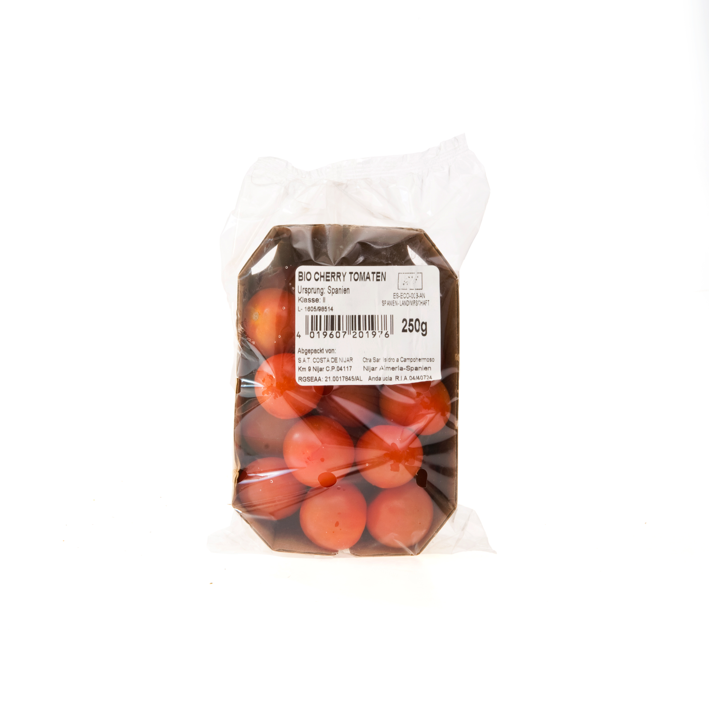 Rajčata cherry BIO (vanička 250g) /ES/Jak.II./