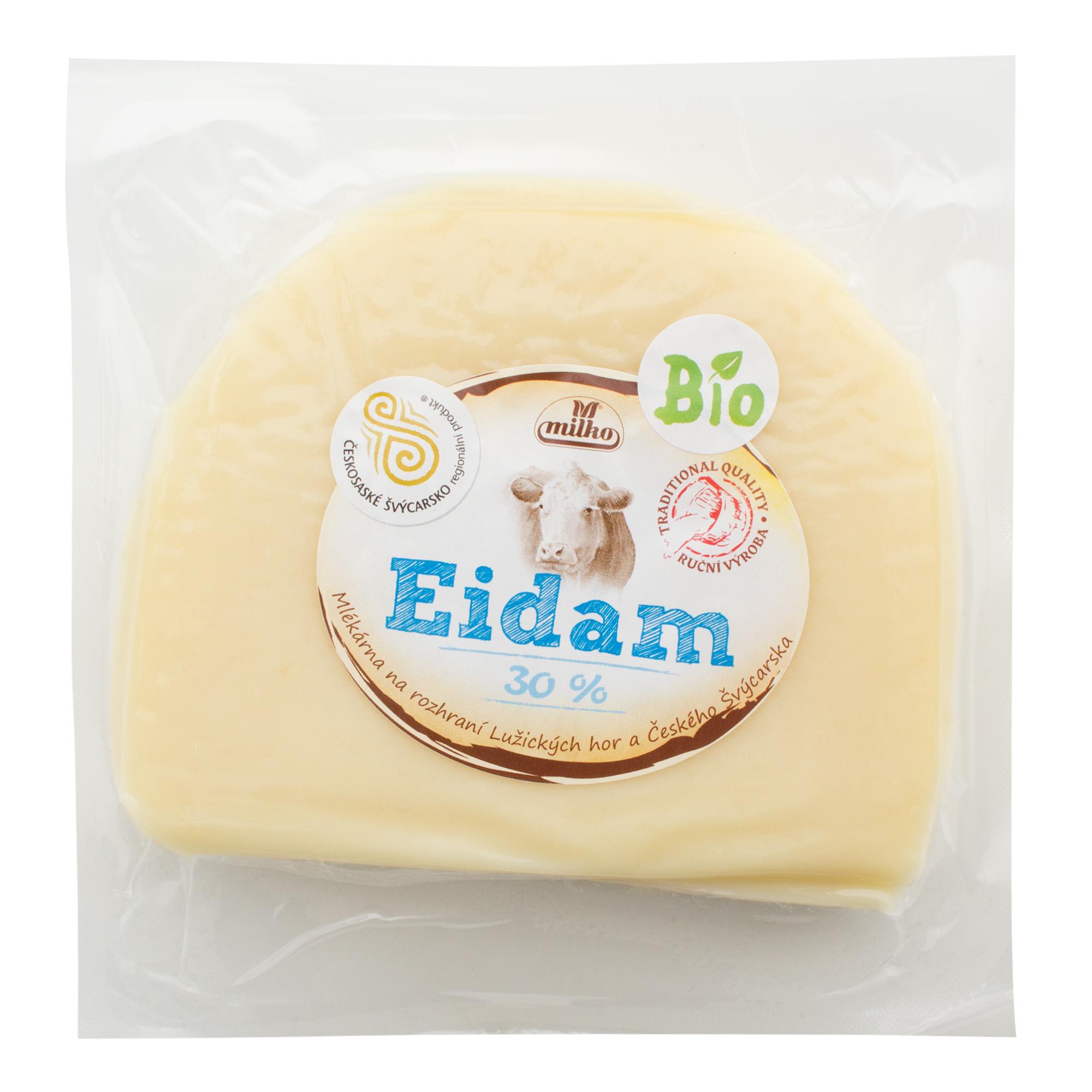 Sýr Eidam 30% 200g bloček