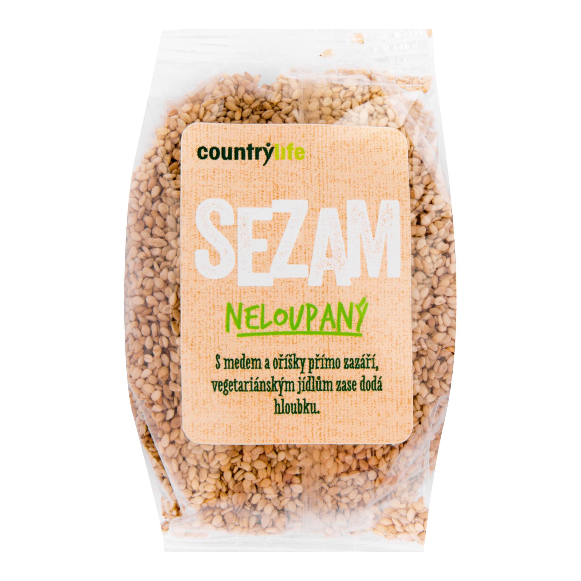 Sezam neloupaný 100g   COUNTRYLIFE