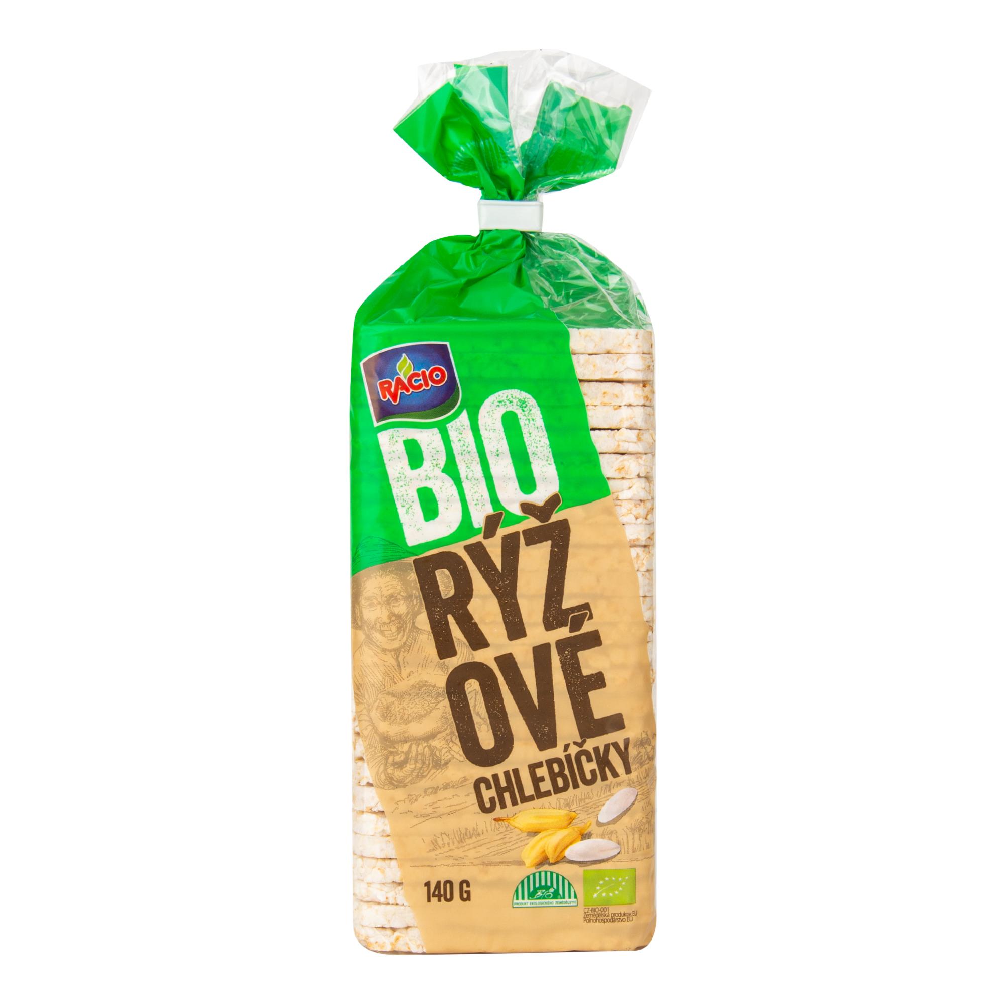 Chlebíček rýžový 140g