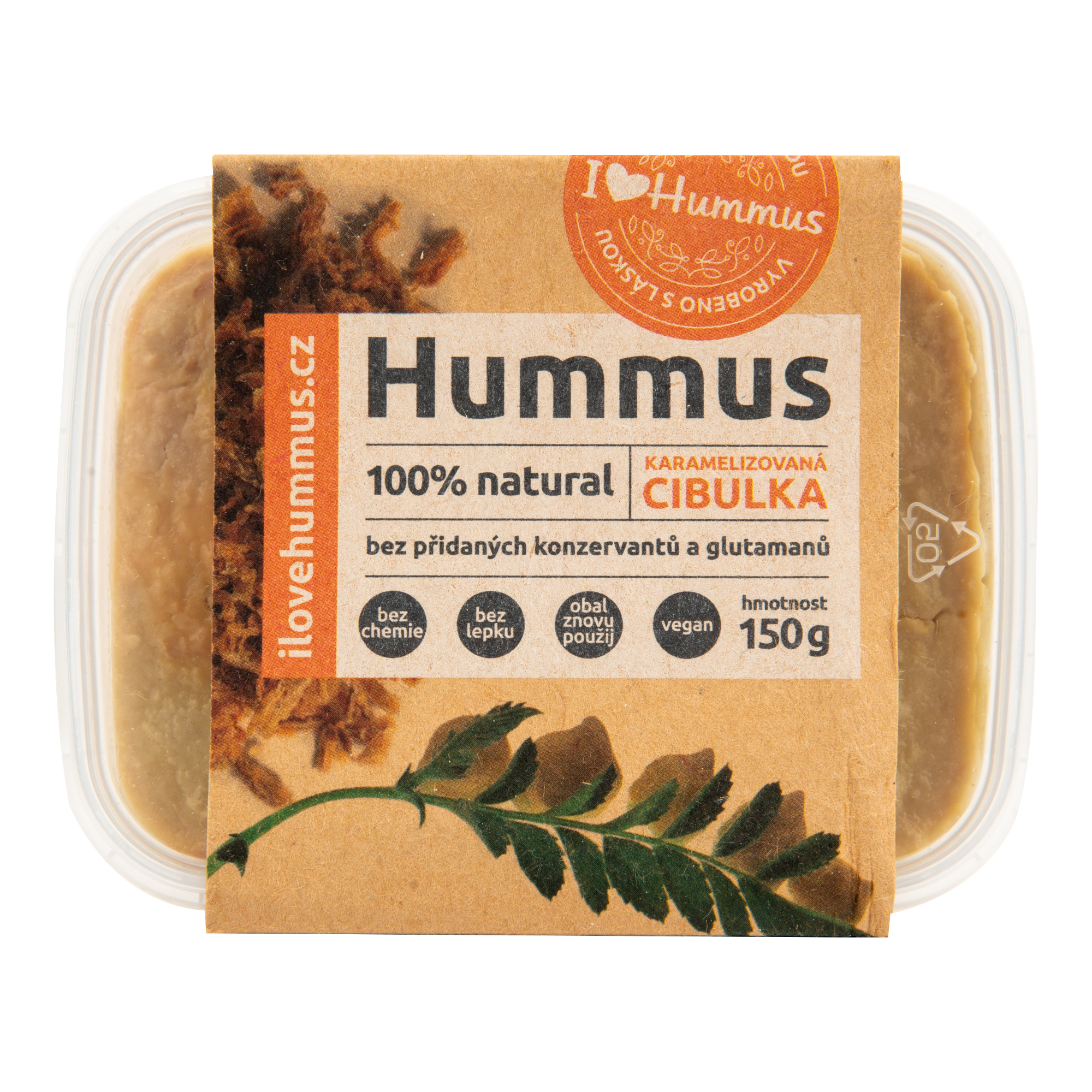 Hummus cibulka karamelizovaná 150g