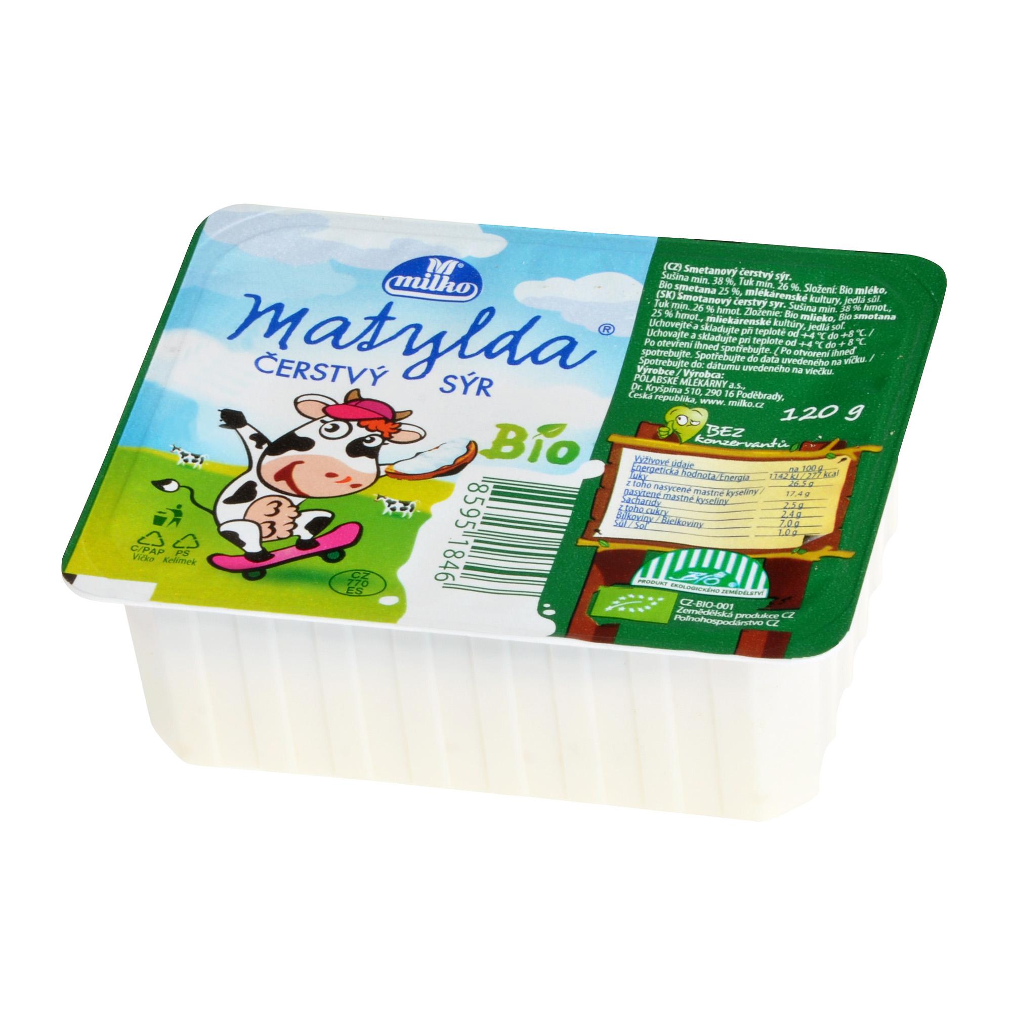 Sýr smetanový Mandava 120g