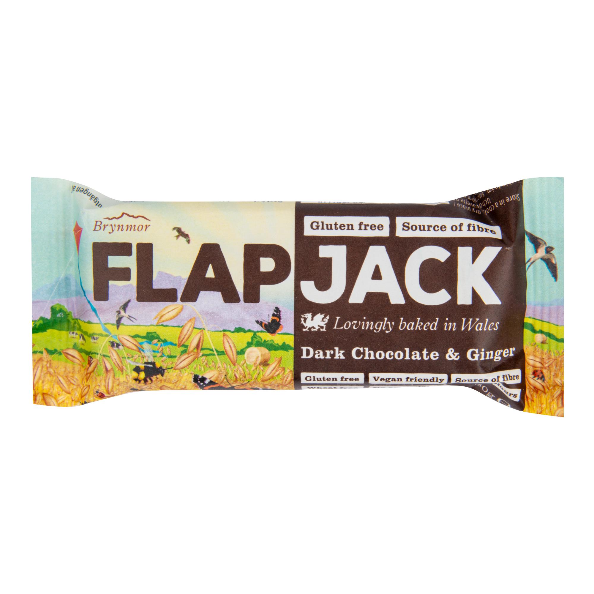 Flapjack čoko+zázvor