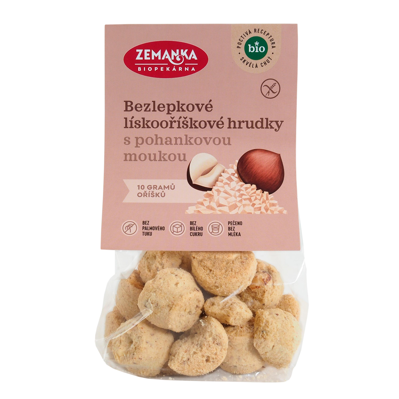 Sušenky pohankové s lískáči 100g