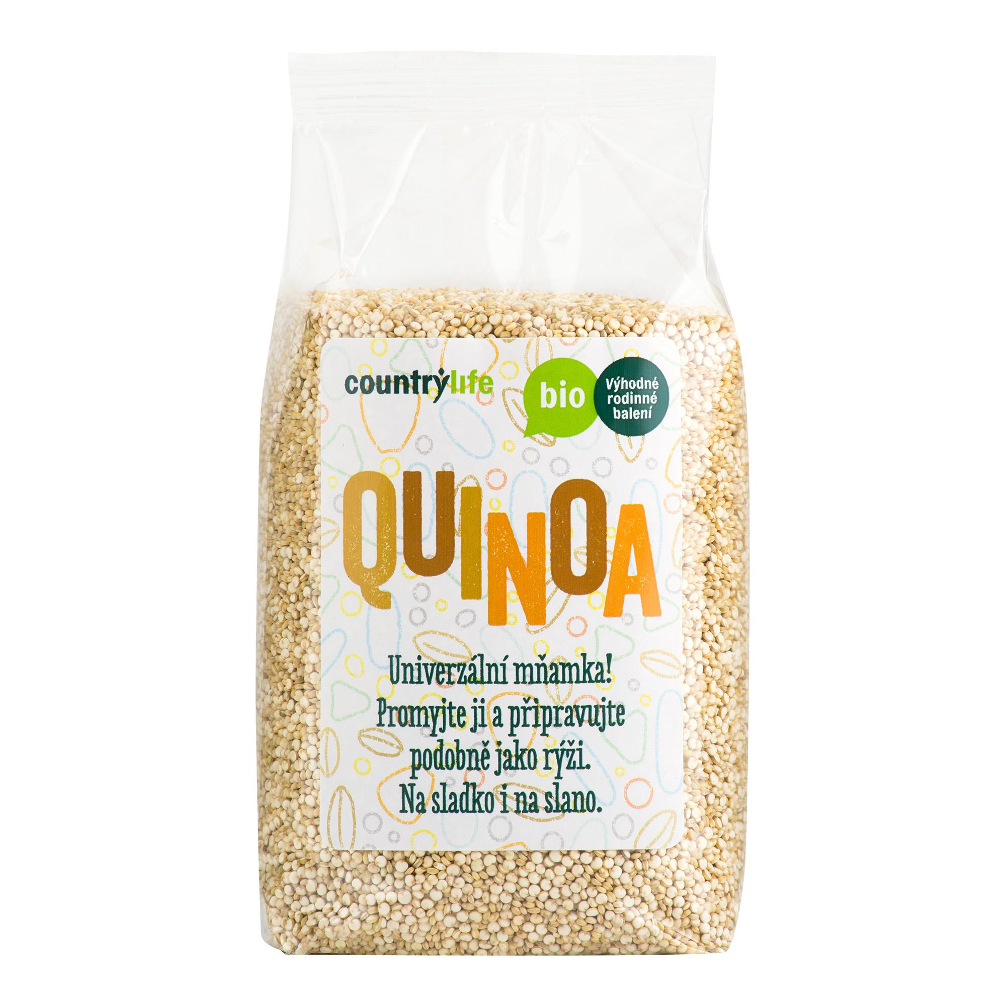 Quinoa 500g BIO   COUNTRYLIFE