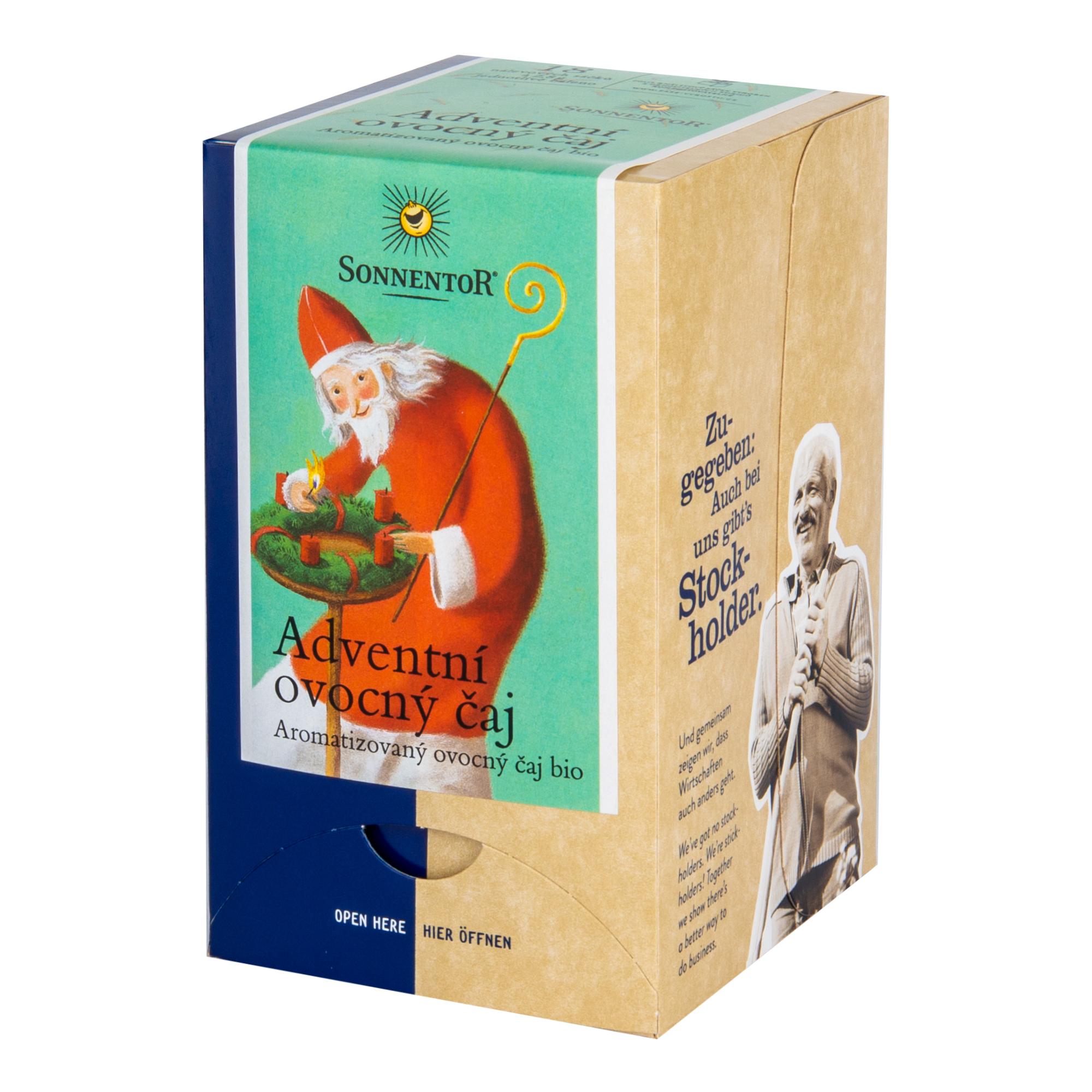 Adventní ovocný čaj 50,4g 18 sáčků v přebalu