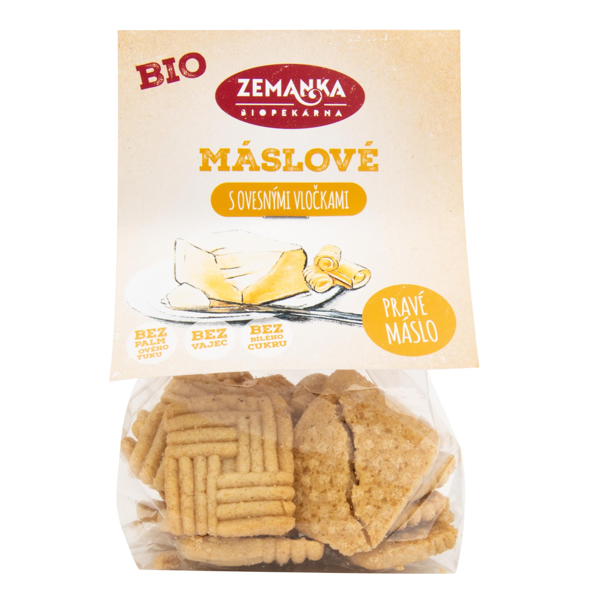 Sušenky máslové s ovesnými vločkami 100g