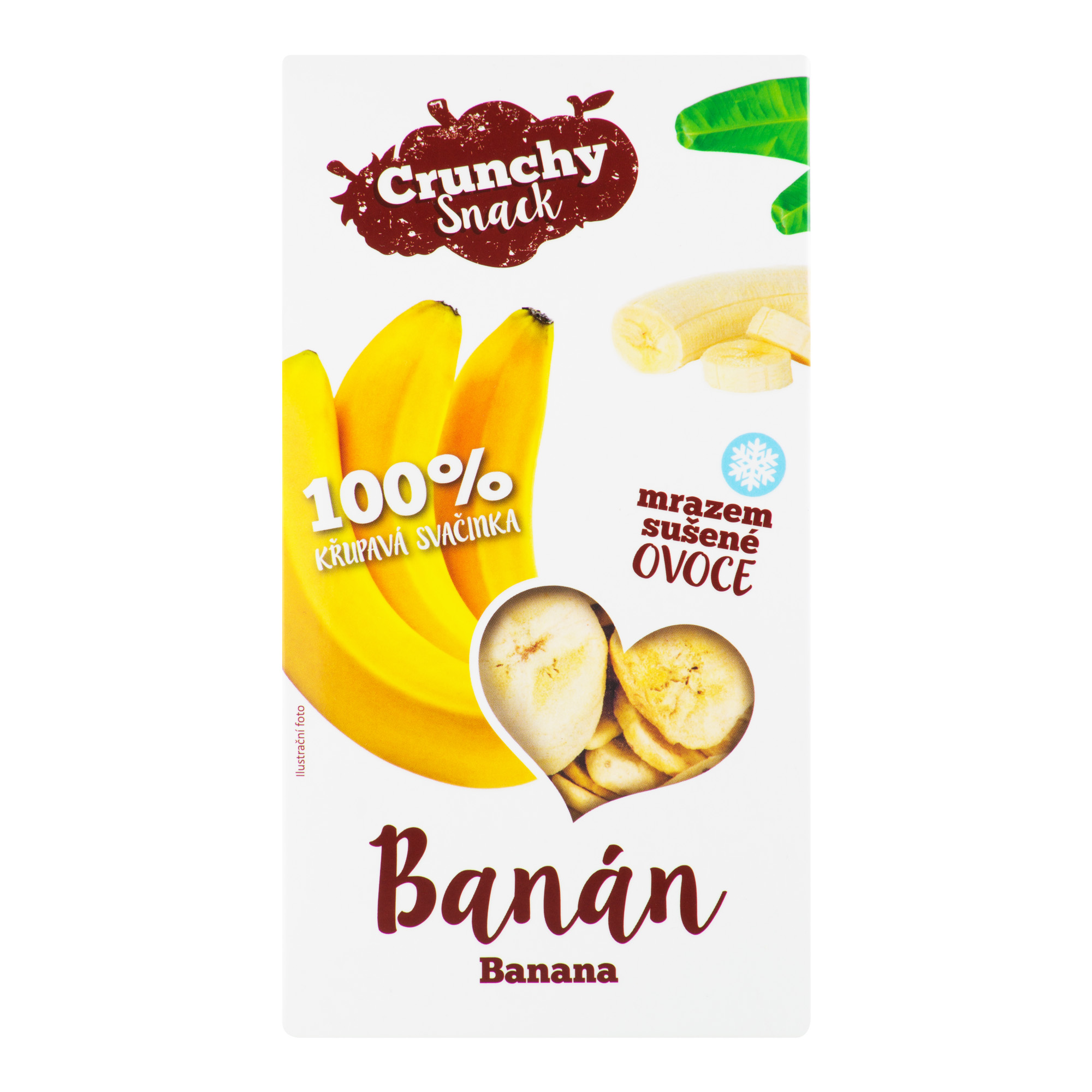 Banány sušené mrazem 30 g   ROYAL PHARMA®