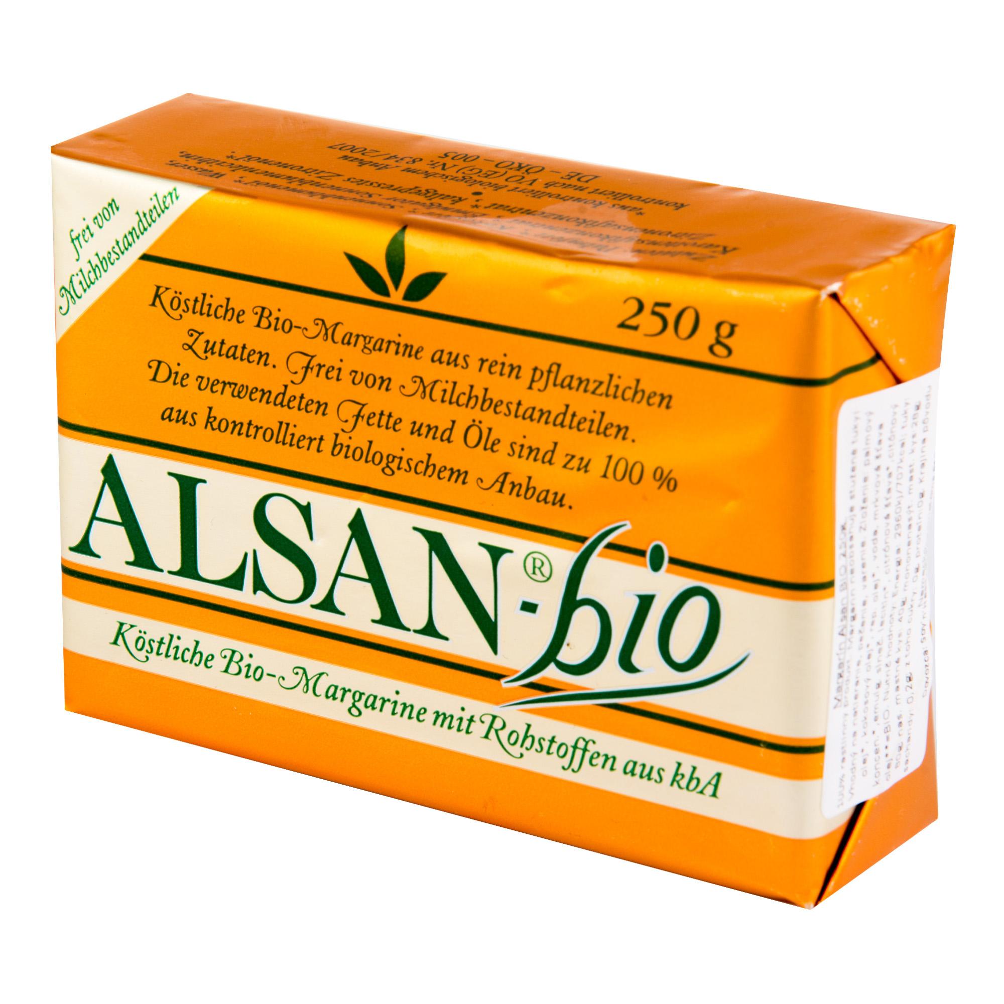 Alsan BIO- rostlinný tuk 250g