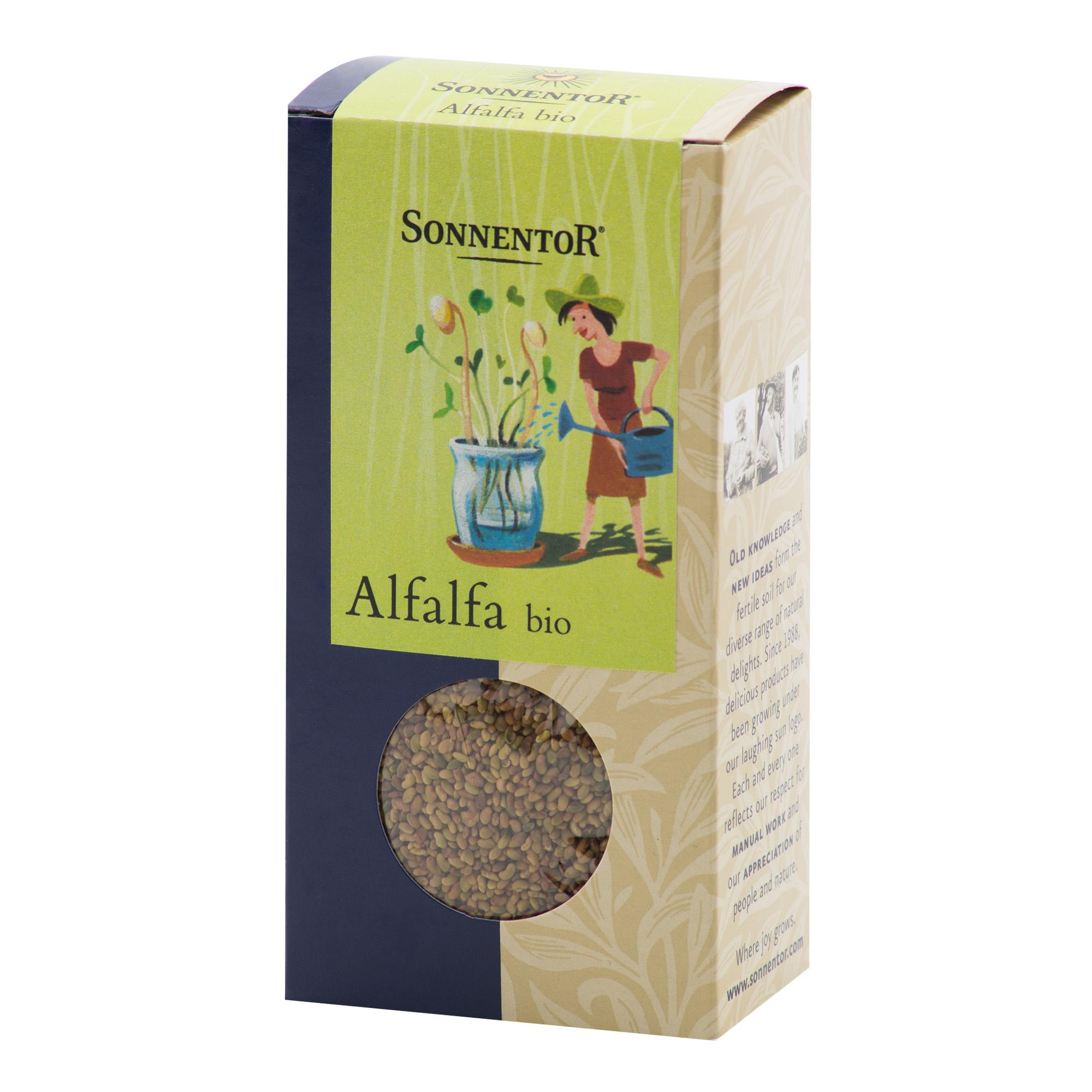 Alfalfa semínka vojtěšky 120g BIO   SONNENTOR