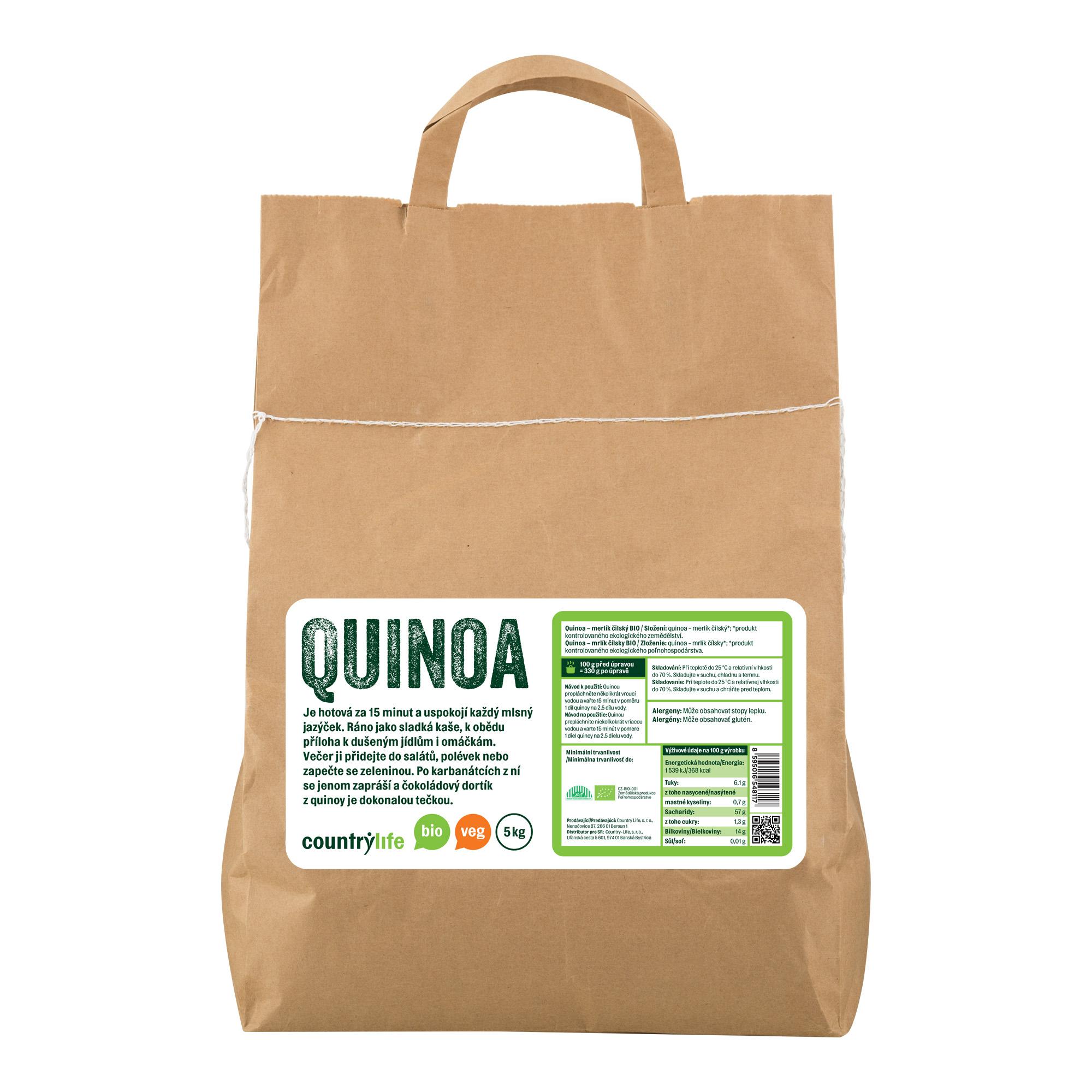 Quinoa 5kg BIO   COUNTRYLIFE