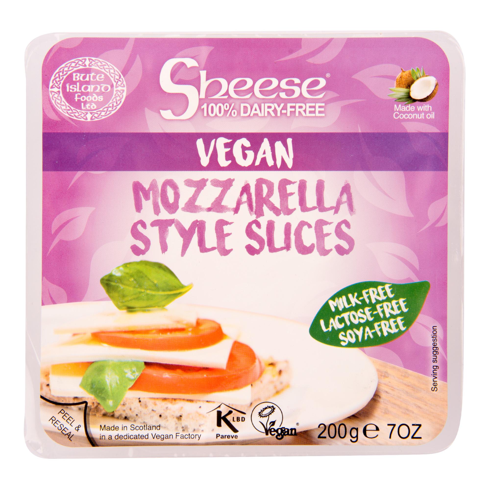 Vegan  Mozza plátky 200g