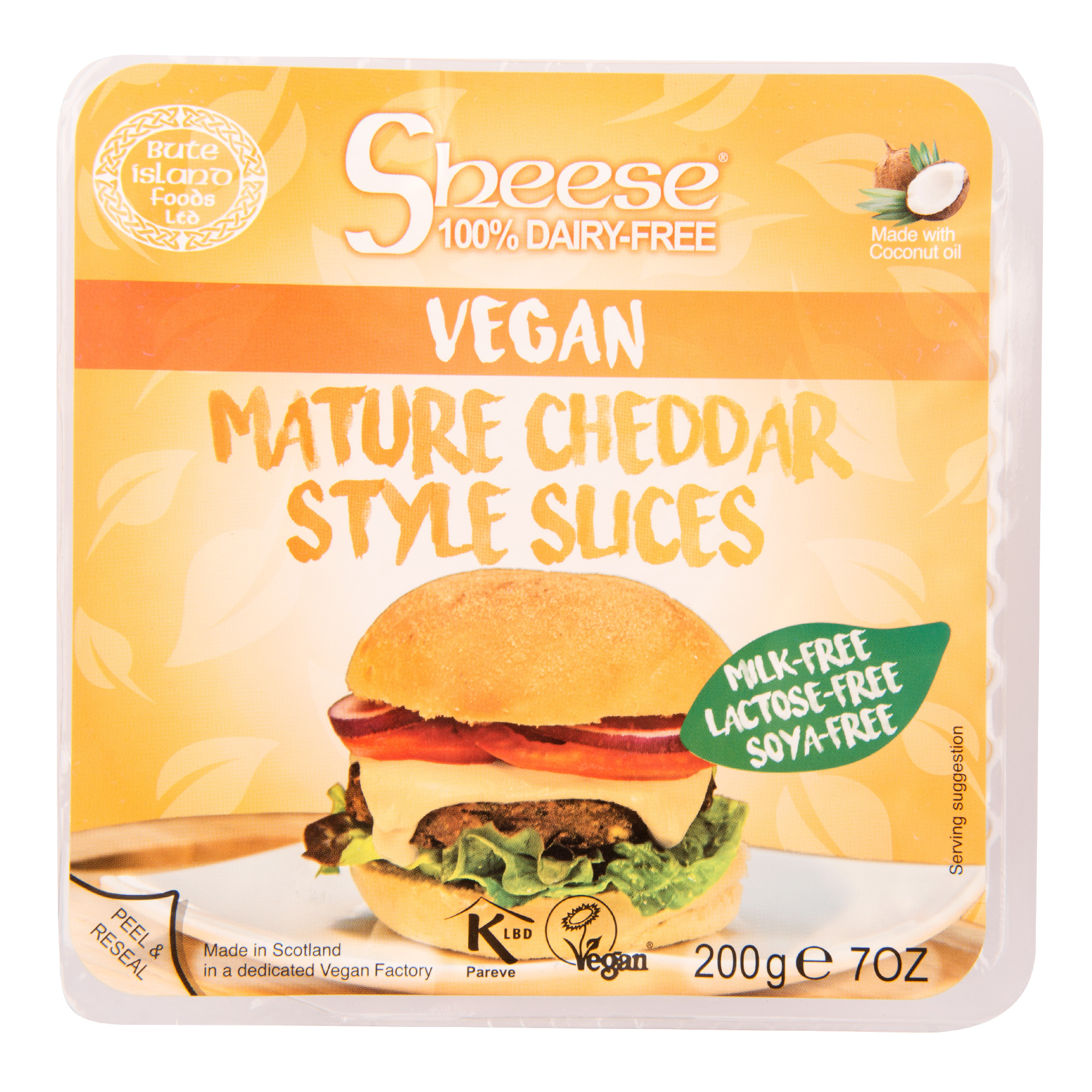 Vegan  Cheddar plátky 200g