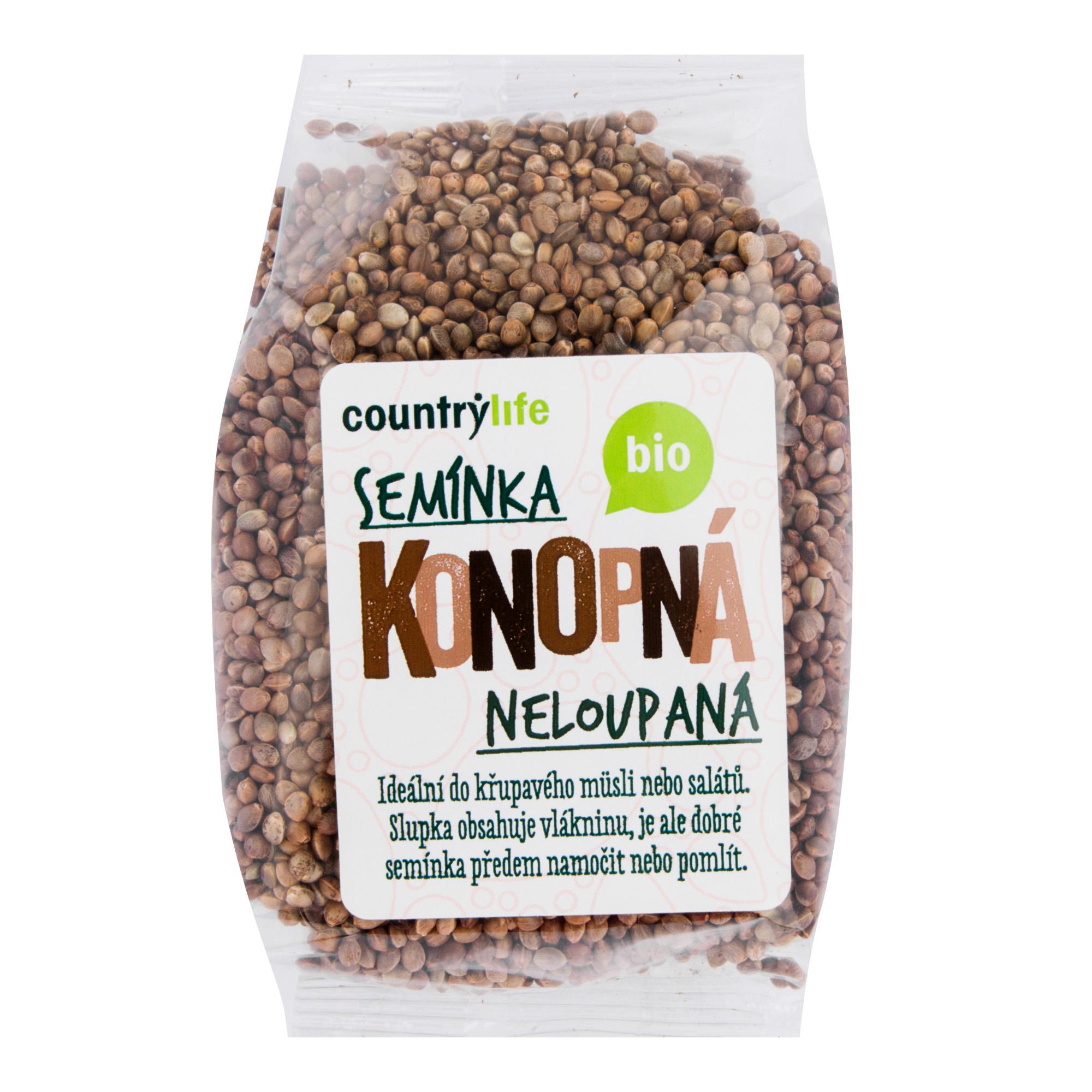 Konopné semeno neloupané 250g