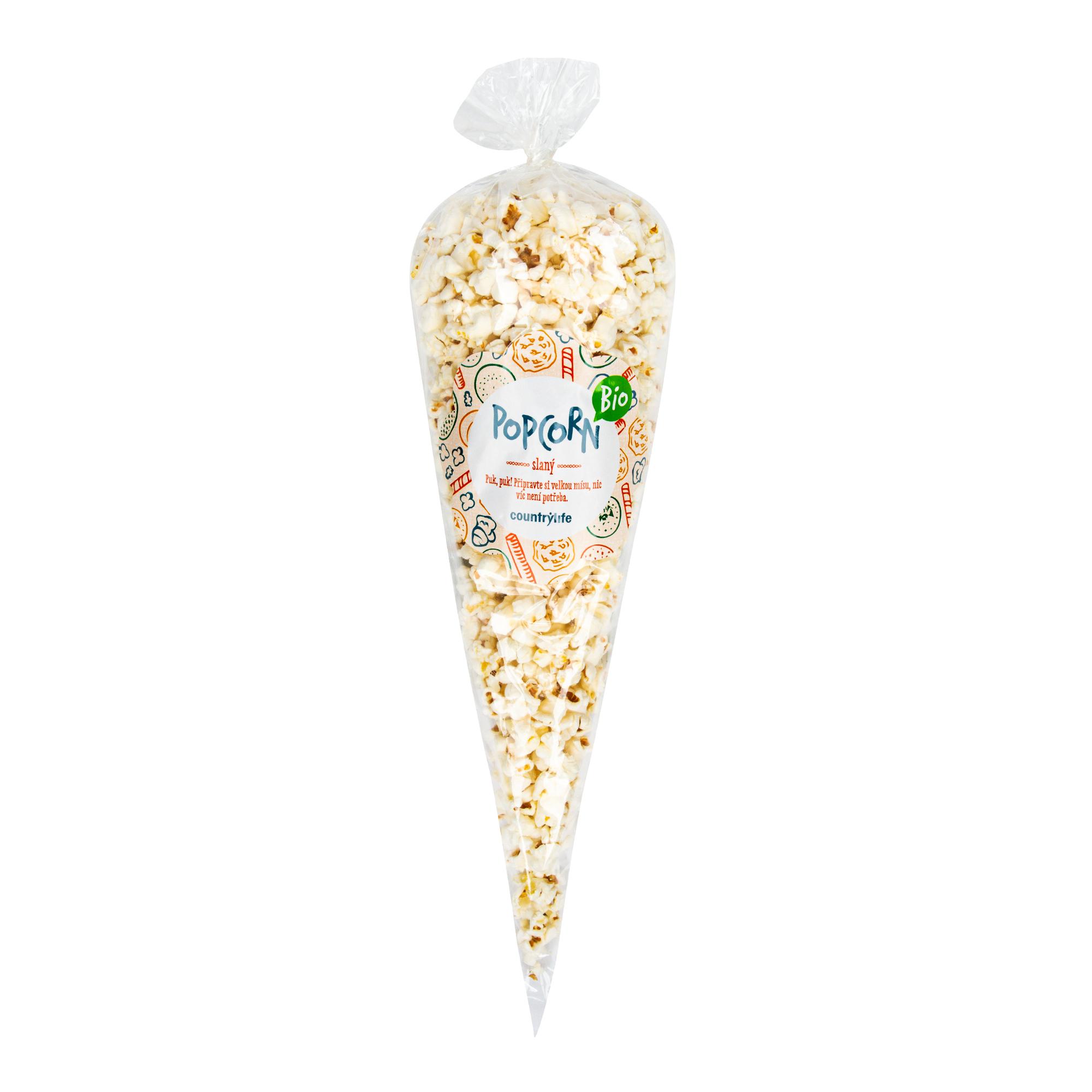 Popcorn slaný 50g